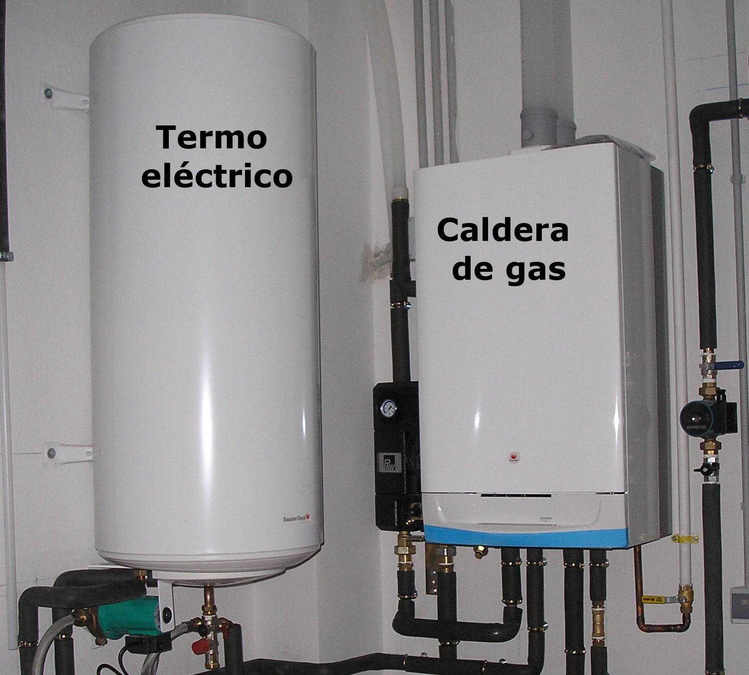 Gas y calefacci n roberto martinez iba ez fontanero en - Termos de gas baratos ...